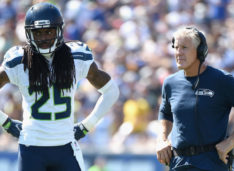 Richard Sherman Talks Strikes